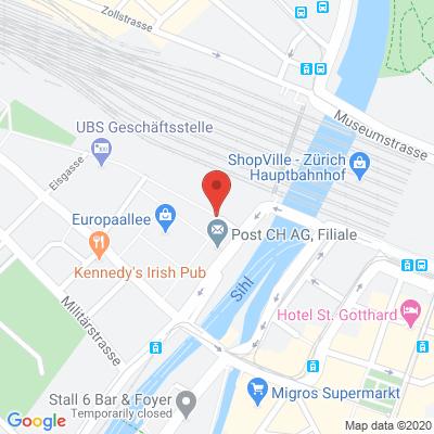Europaallee 1A, 8004, Zurigo