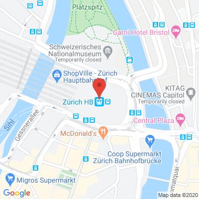 Sihlquai Passage / Hauptbahnhof Zürich, 8004, Zurich