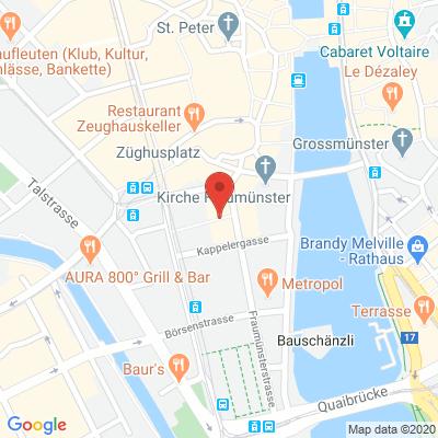 Fraumünsterstrasse 25, 8001, Zurich