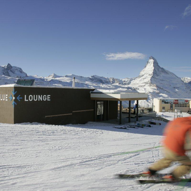 Blue Lounge Lounge direkt an der Piste