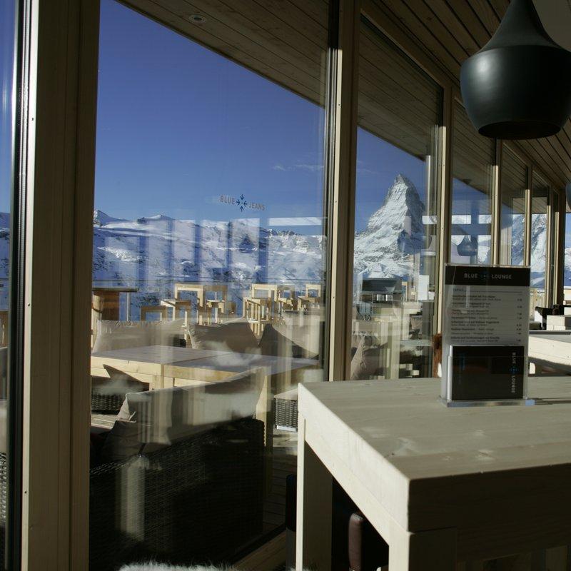 Blue Lounge Lounge mit Aussicht