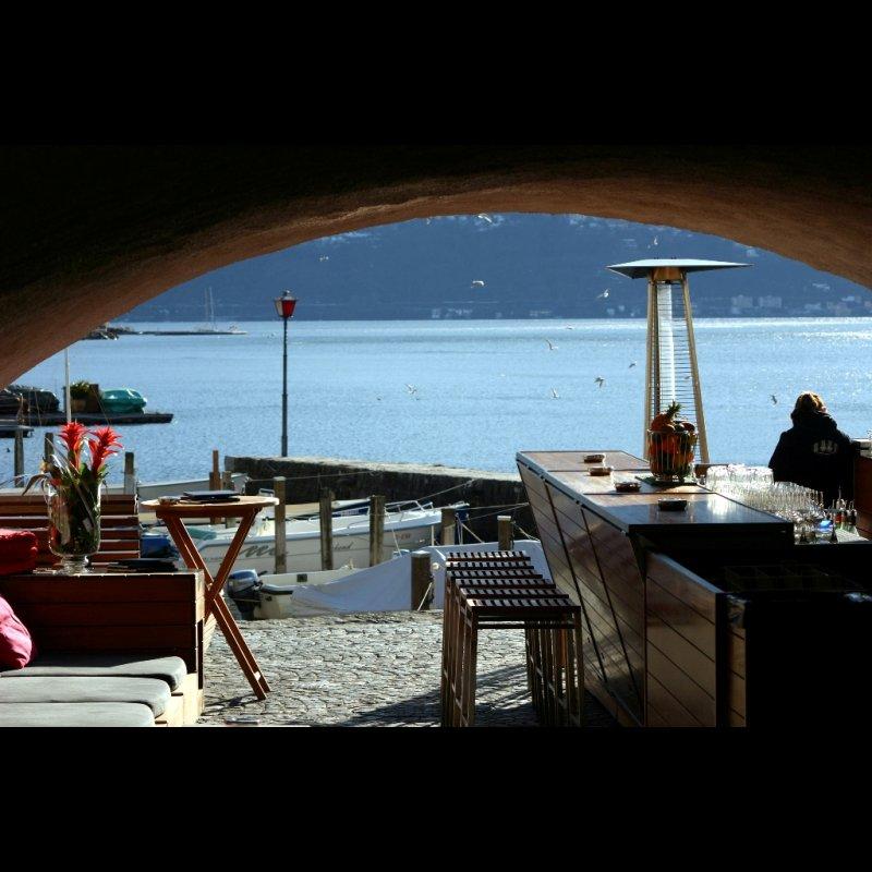 Sea Lounge mit See
