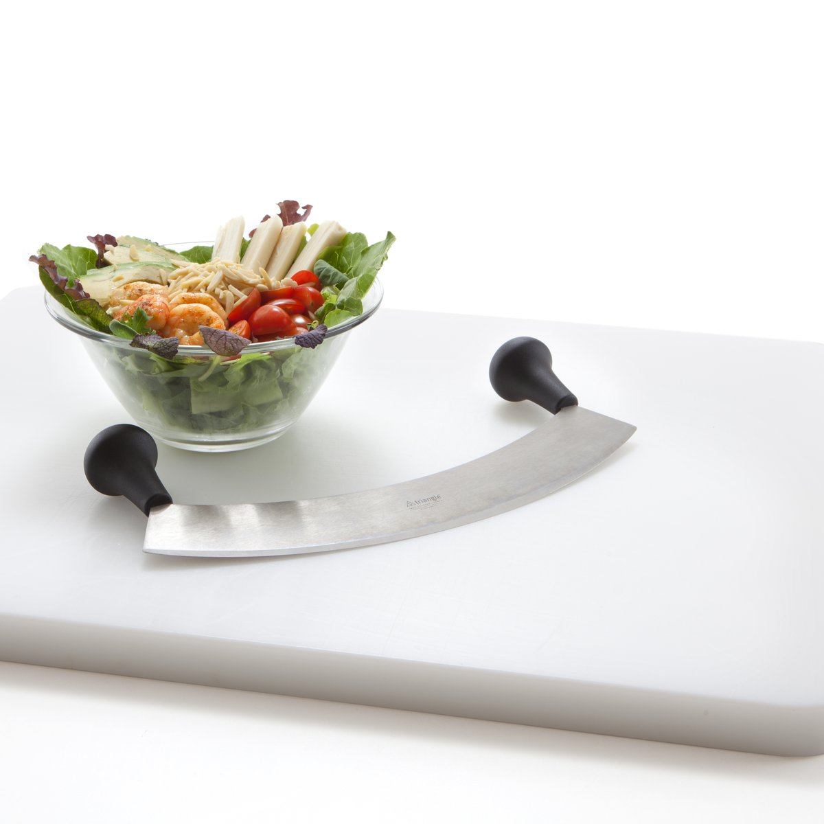Salat vor Schnitt