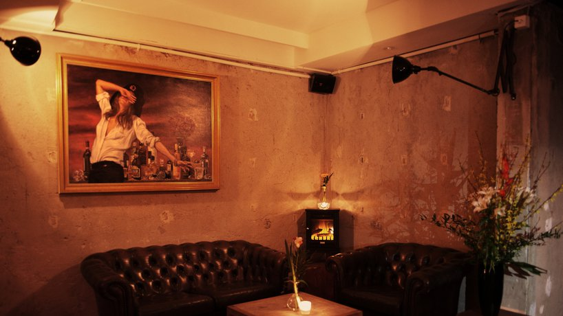Die Raygrodski Cheminée-Lounge