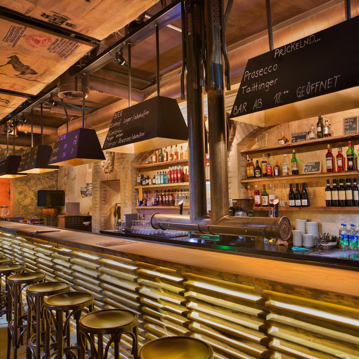 Die Bar, wo die Künstler nach dem Gig anzutreffen sind