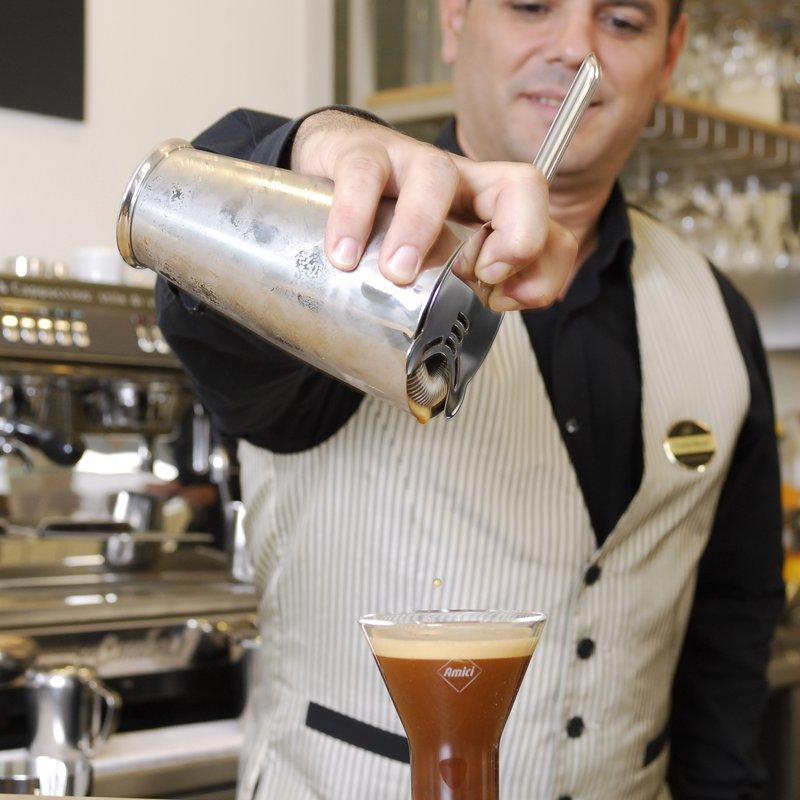 Manzoni Bar Kaffeespezialitäten