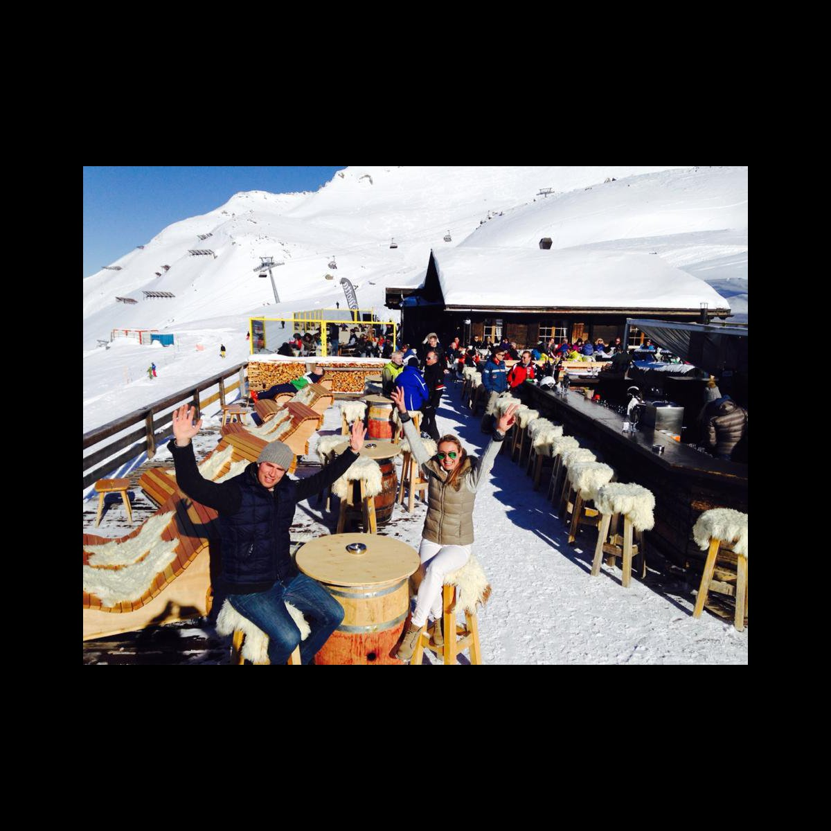 Motta Hütte Food, Aussenansicht, Speisesaal, Gastgeber Bianca und Sergio