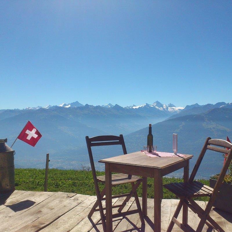 Sicht auf´s Matterhorn