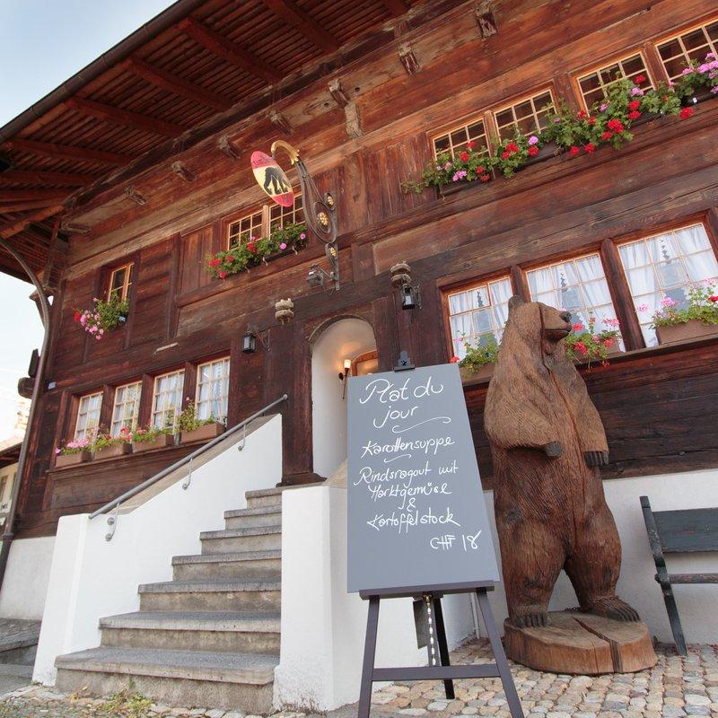 Bären Haupteingang