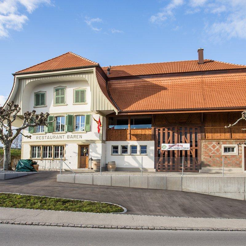 Das Bären-Gebäude: Alt und neu kombiniert