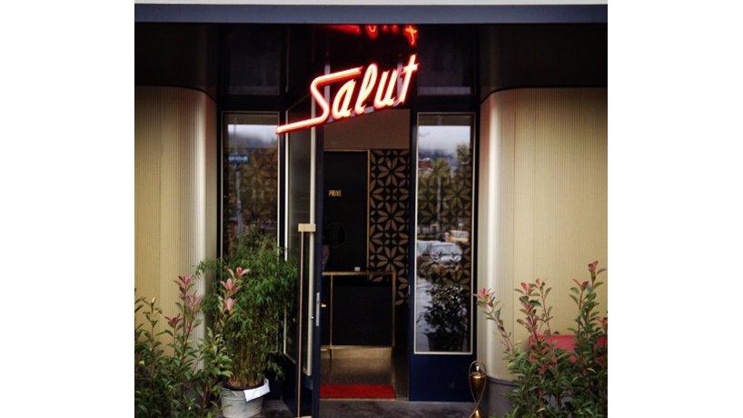 Salon Eingang