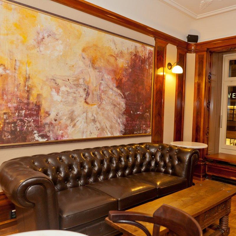 Interieur und Ausblick 1. Stock