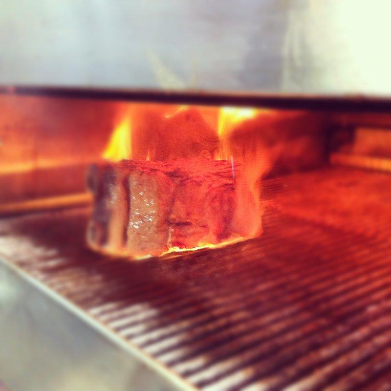 800°C Grill