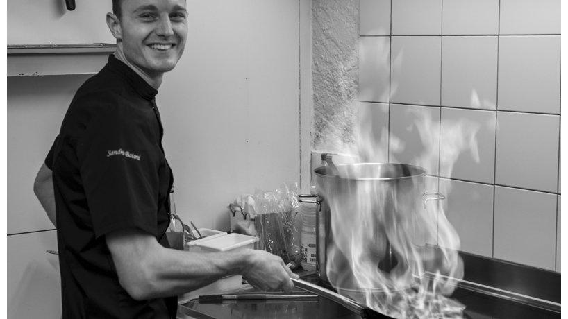 Küchenchef Sandro Batoni