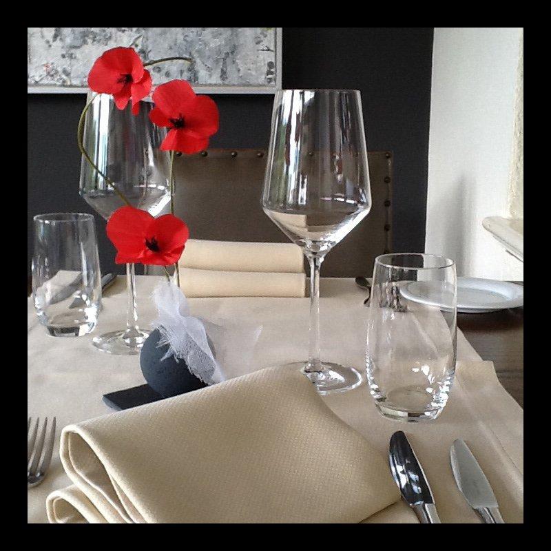 La tavola in Veranda...