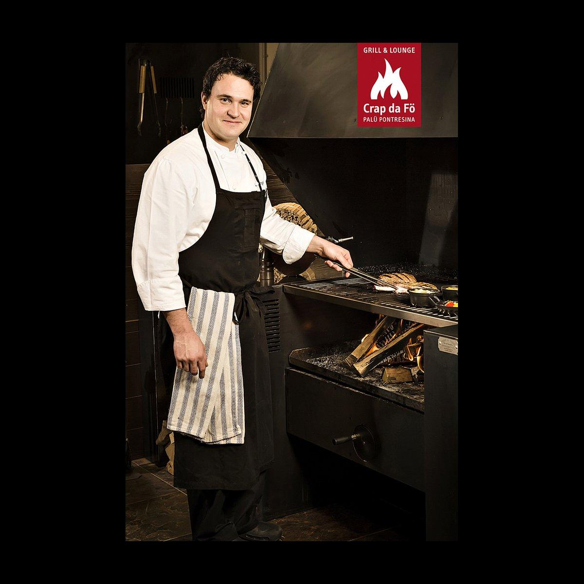 Küchenchef Fabio Tempini