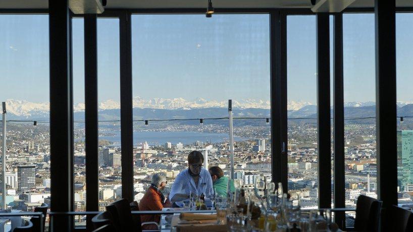 Aussicht vom Jahreszeiten-Restaurant