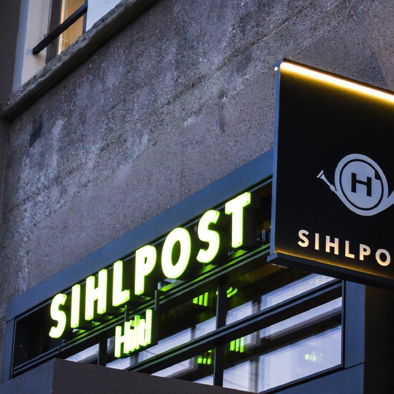 Hiltl Sihlpost_Fassade