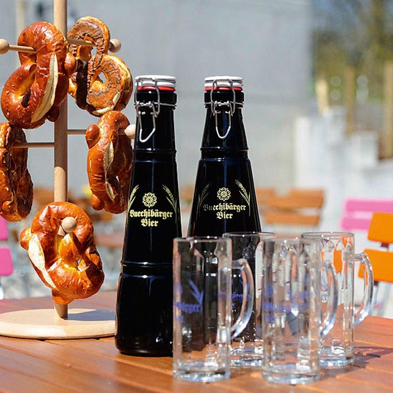 Buechibärger Bier und Bretzel