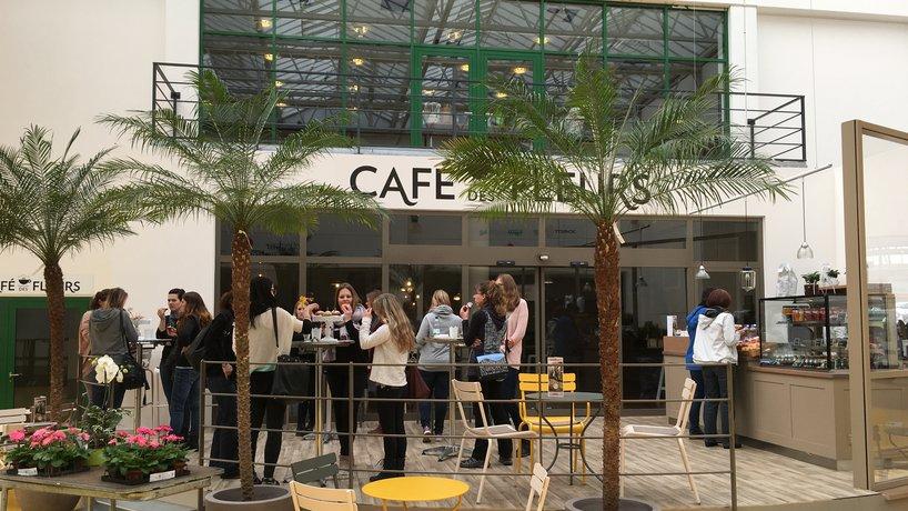 Aussenbereich, Kaffeebar