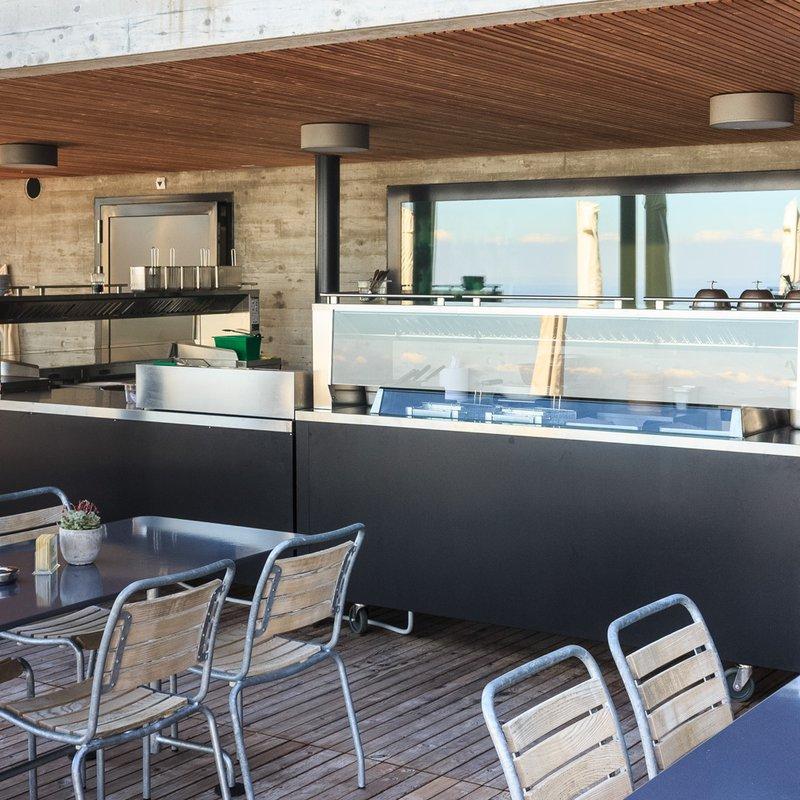 Unsere neue Terrassenküche mit leckeren Grillgerichten