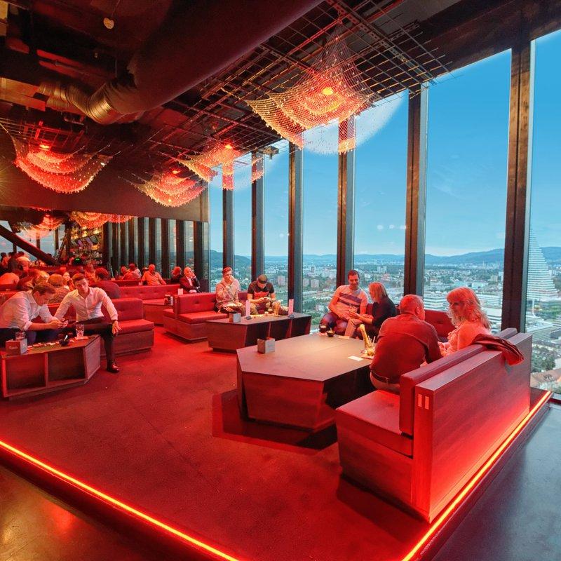 VIP Section im 31. Stock