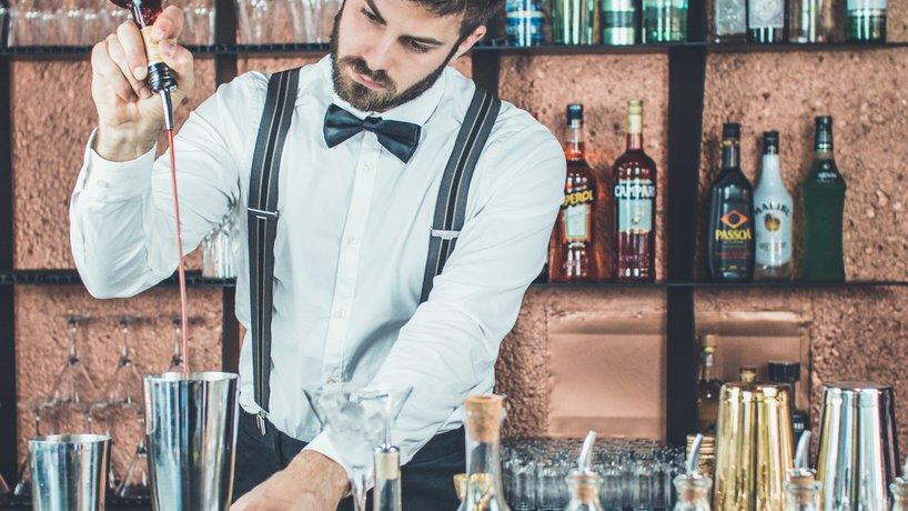 Samuele Fontana, uno dei nostri barman di punta