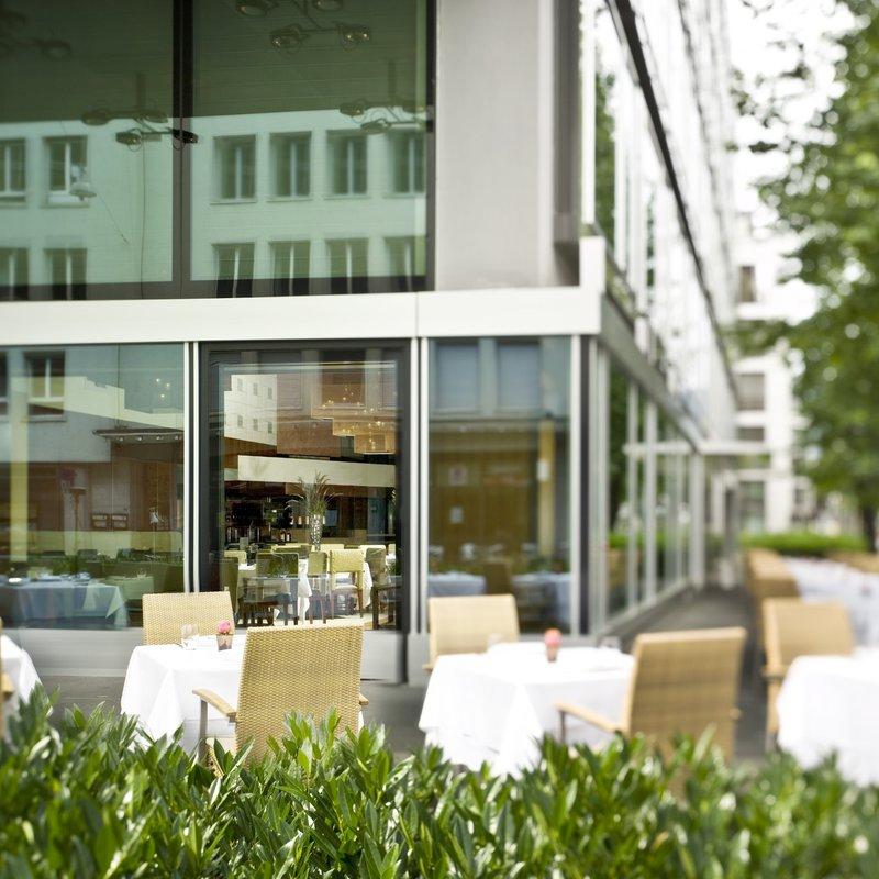 """Restaurant """"parkhuus""""  Terrasse"""