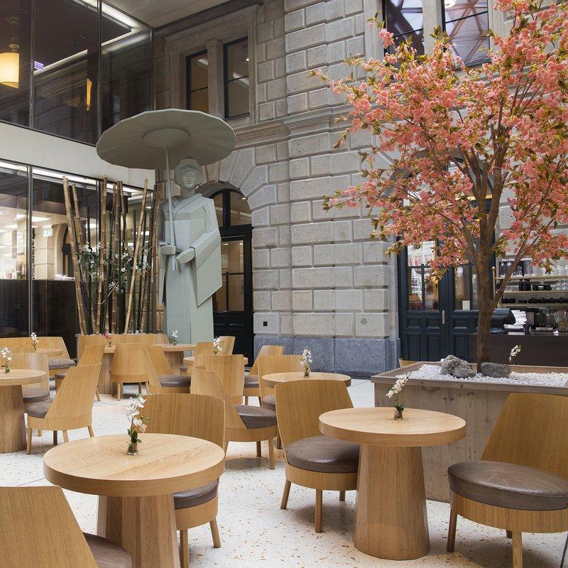 Lounge Sora Garden Location