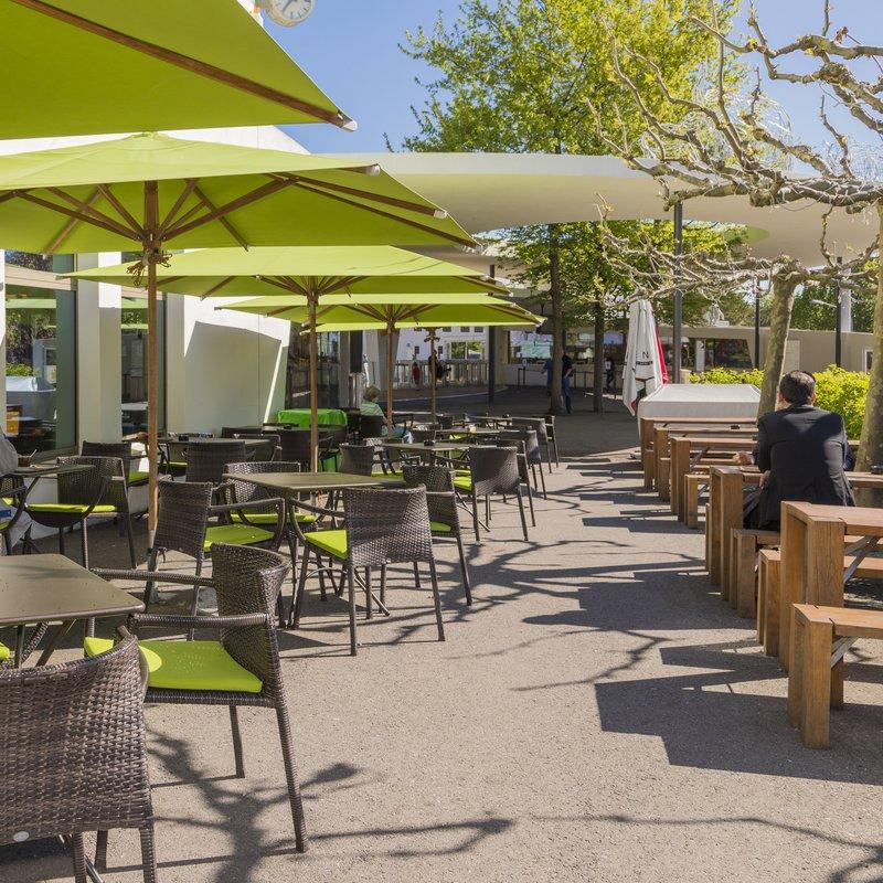 Zoocafé aussen Terrasse