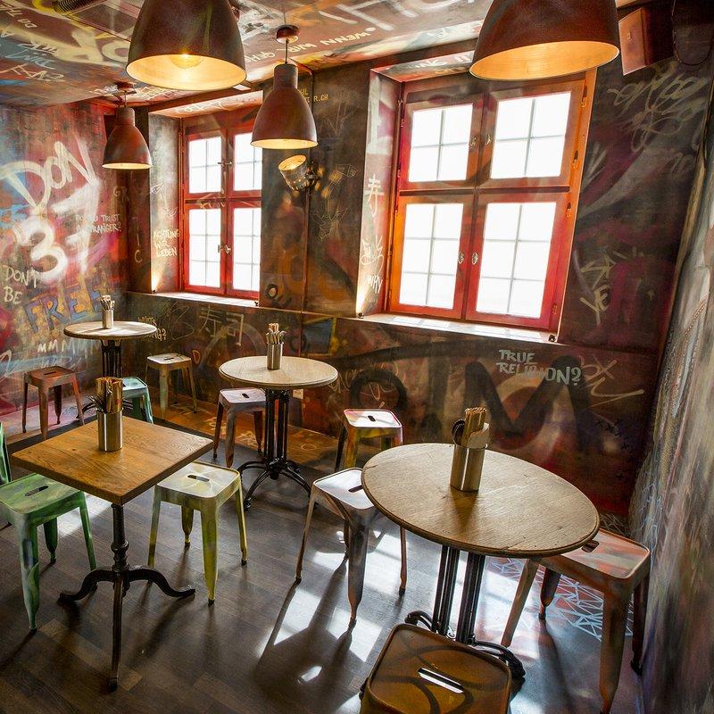 Gästebereich Grafitti OG
