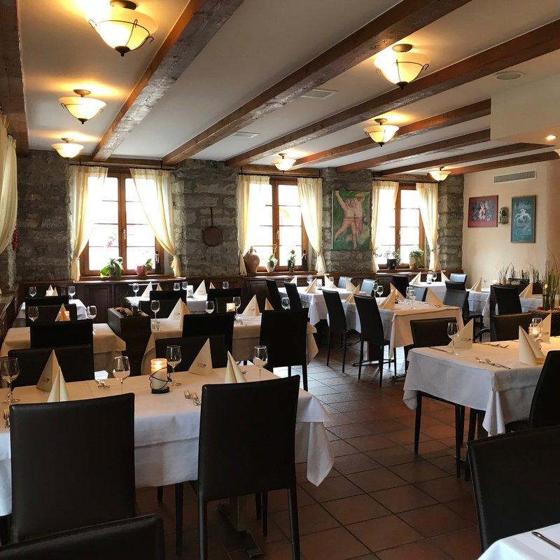 Restaurant bei Buffet