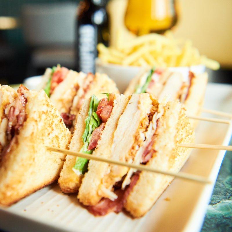 Terrasse Bar - Club Sandwich