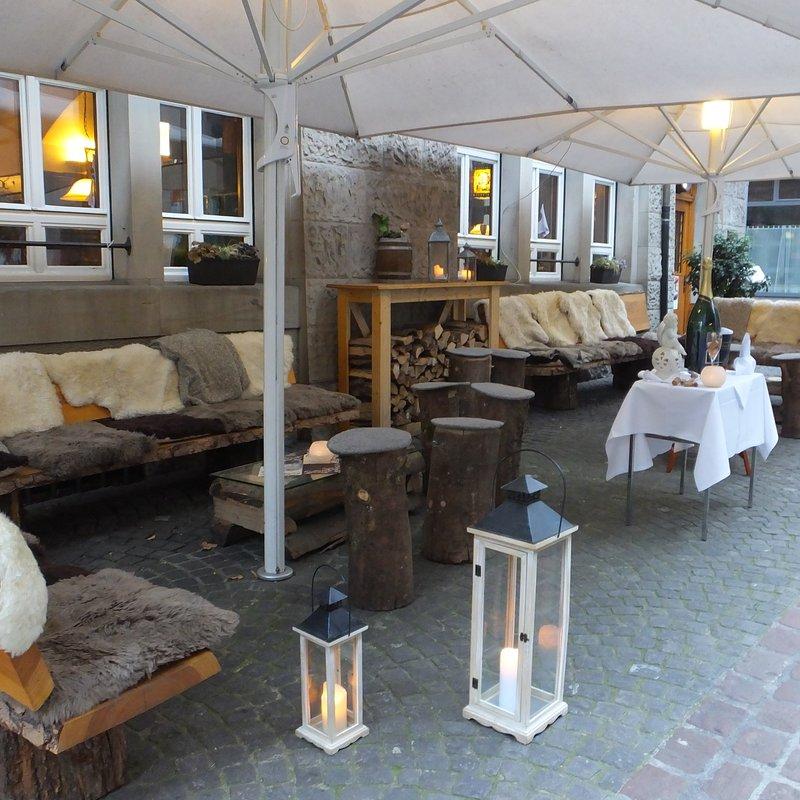 Aussen Winter Lounge
