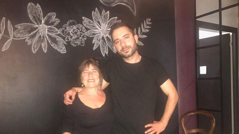 Gastgeber Nino und Anita Sartorio