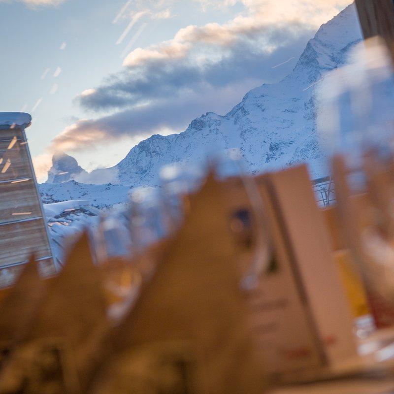 Bergrestaurant Hannigalp Aussicht