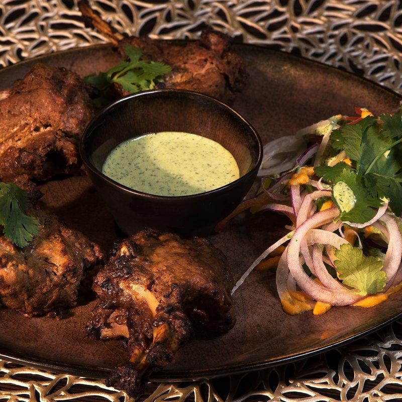 Spices Kitchen & Terrace: Adraki Lamp Chops