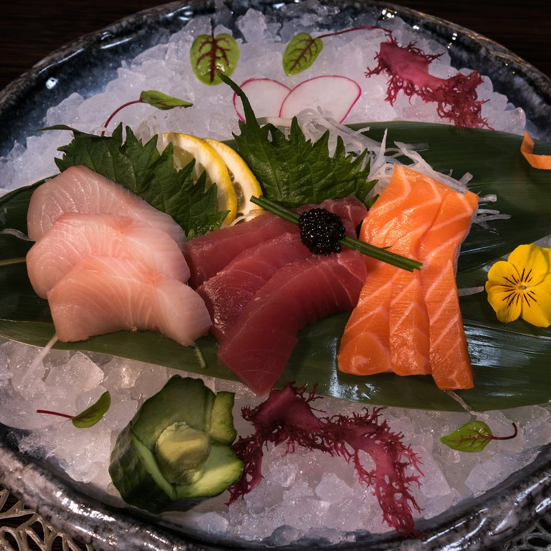 Spices Kitchen & Terrace: Sashimi Selection