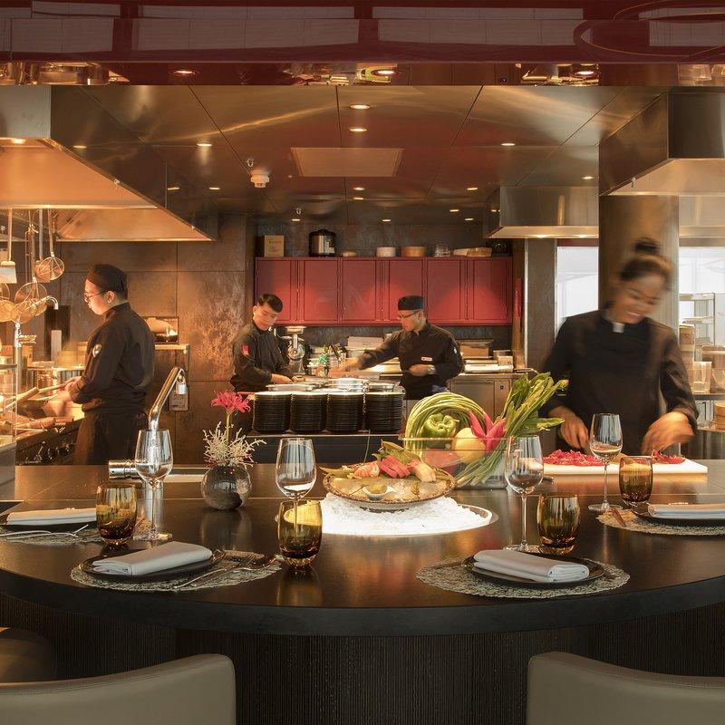 Spices Kitchen & Terrace: Küche