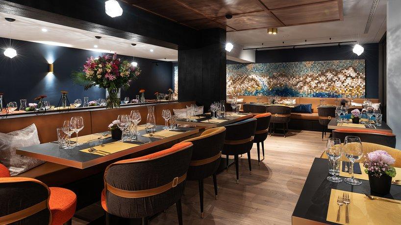Restaurant Glacier am Abend