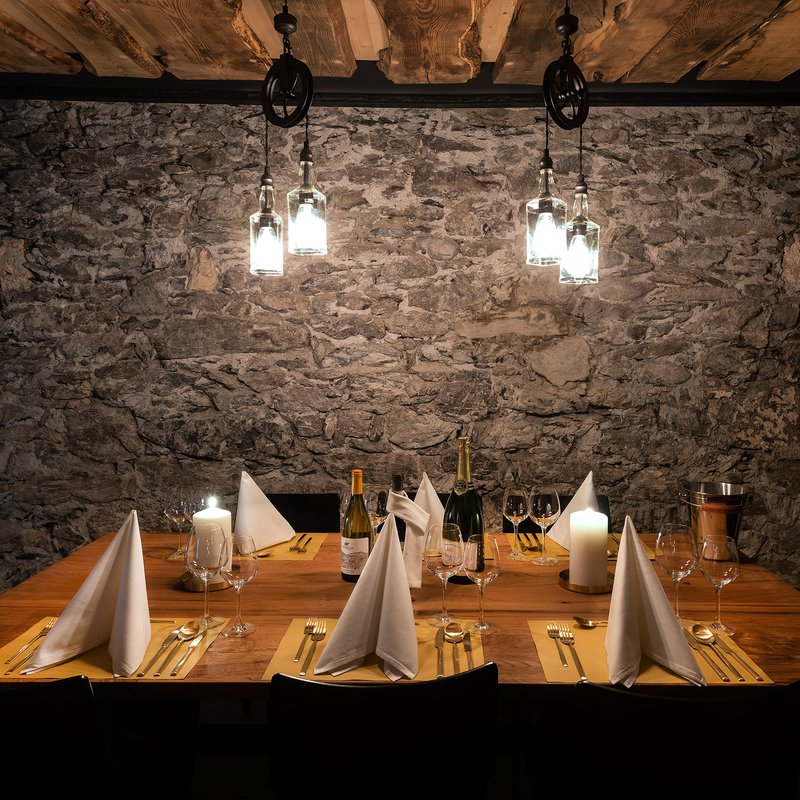 Chef's Table von Jonas Messer im Weinkeller 2