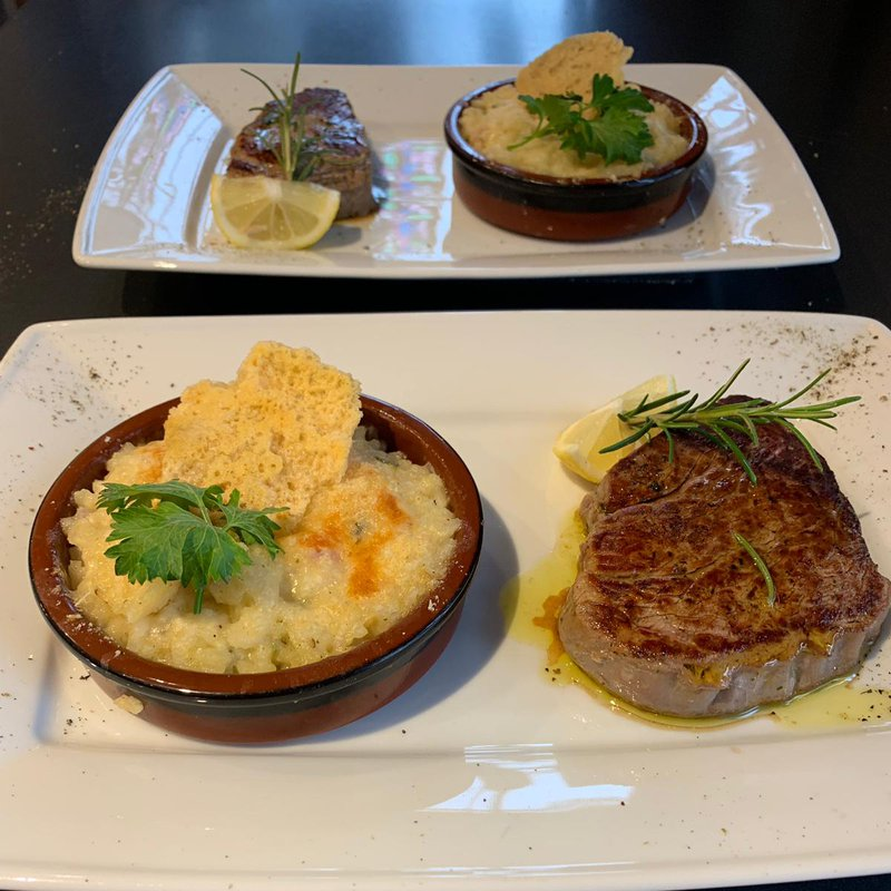 Angus Filet mit Risotto