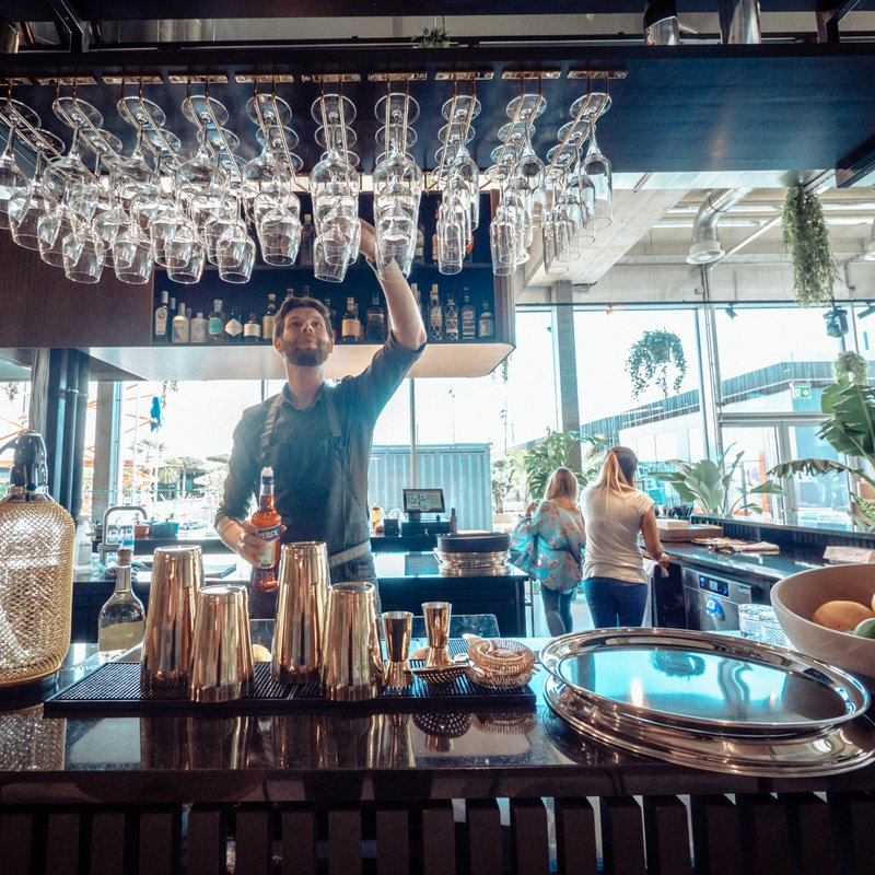 Feine Drinks von der Bar