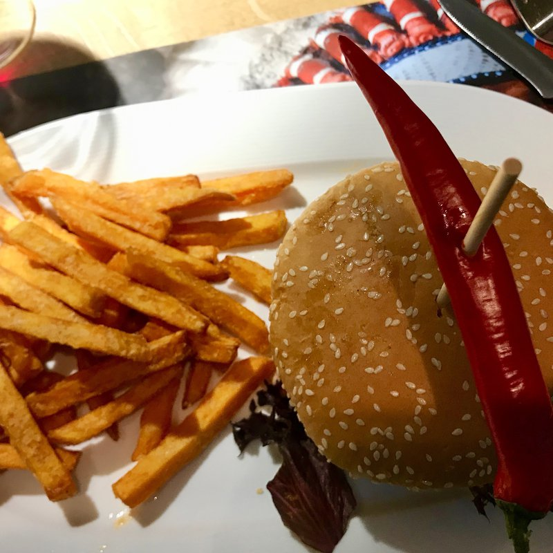 Burger Sweet Fries