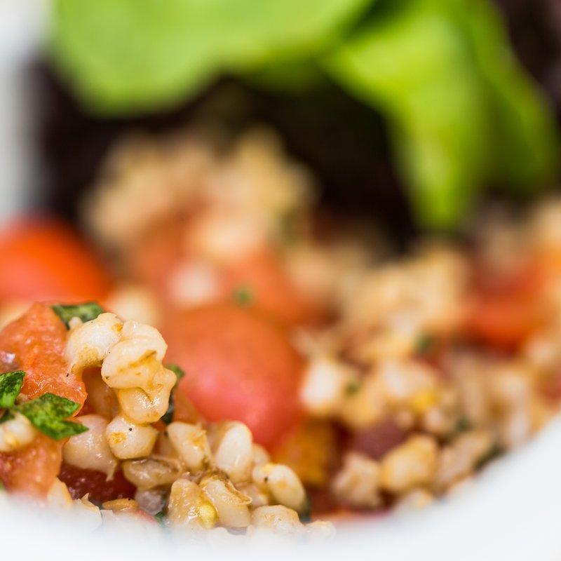 Auch vegetarisch essen kann lustvoll sein.