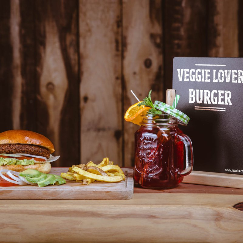 Veggie-Lover Burger