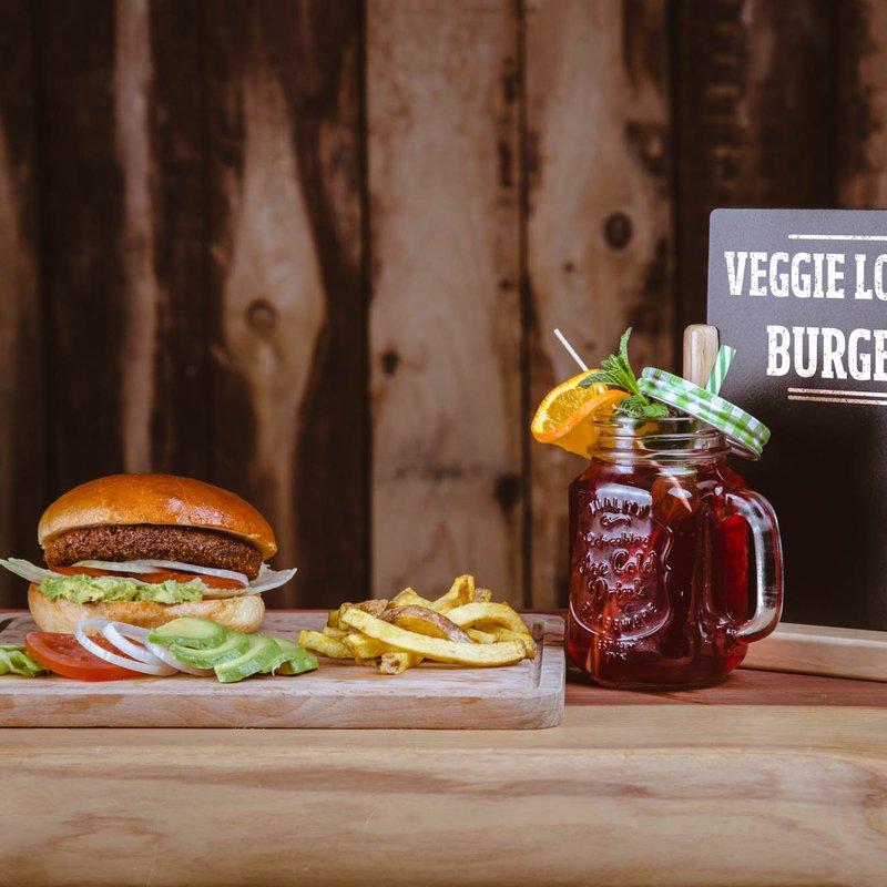 Veggie-Lover Burger