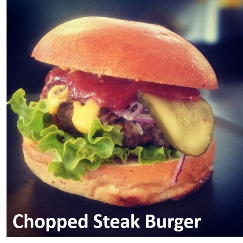 Chopped Steak Burger