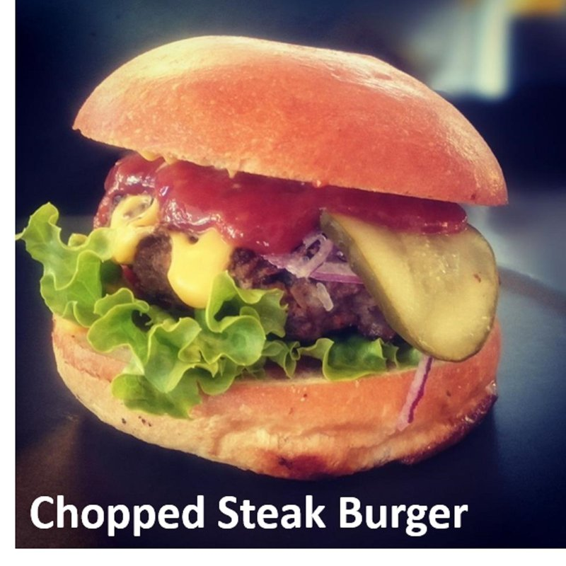 Chopped Steak Burger