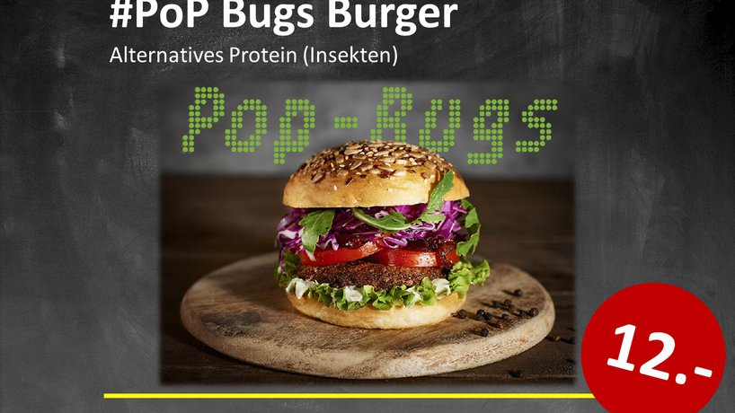 PoP Bugs Burger